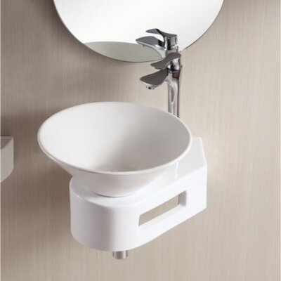 Ceramica II Ceramic Circular Vessel Bathroom Sink