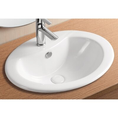 Ceramica II Self Rimming Bathroom Sink