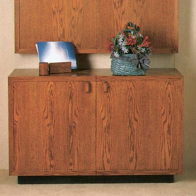 Door Credenza Oak Medium Product Photo