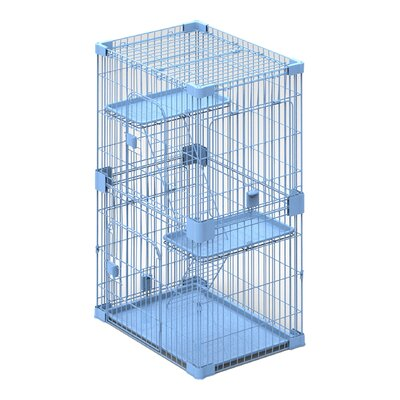 Wirehouse Two Level Cat Cage/Crate
