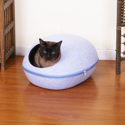 Chamberlain Pet Bed with Removable Cover Color: Blue