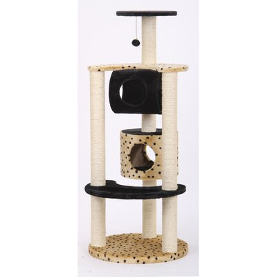 "PetPals 57"" Leopard Print Cat Tree at Sears.com"