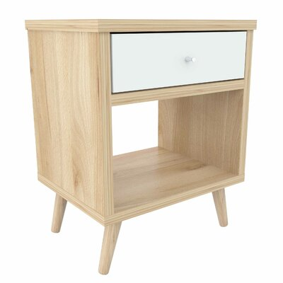 Saunders 1 Drawer Nightstand