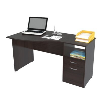 Buy Low Price Inval Curved Top Computer Desk | Office Furniture