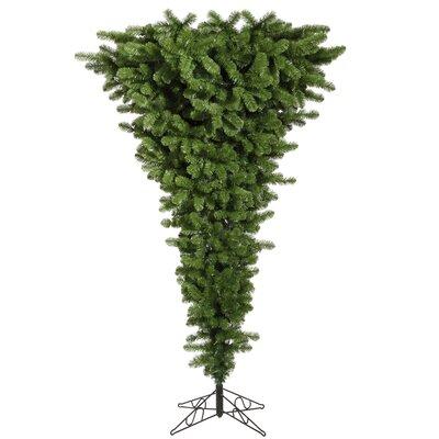 Upside Down 7.5' Green Artificial Christmas Tree