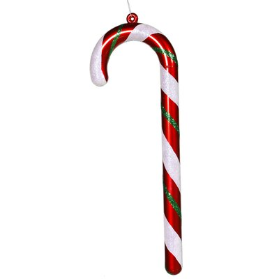 Candy Cane Ornament Size: 24