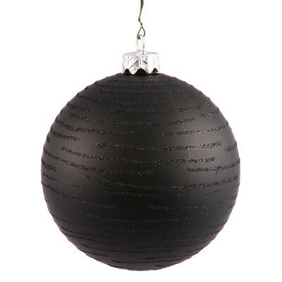 Ball Christmas Ornament Color: Black
