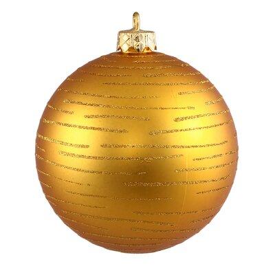 Ball Christmas Ornament Color: Antique Gold