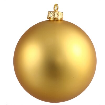 UV Drilled Ball Ornament Size: 2.75