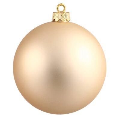 UV Ball Ornament Color: Champagne