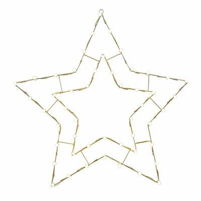 Star LED 5 Pt C7 Motif X146042