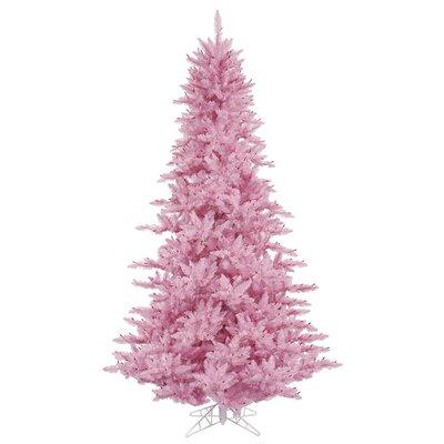 6.5' Pink Fir Christmas Tree