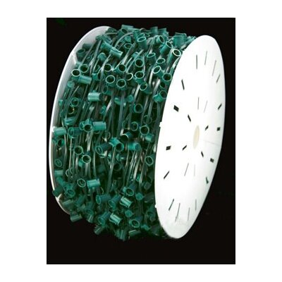 Commercial C9 Socket Sets Spool Color: Green
