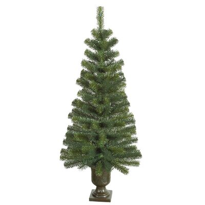 4' Noble Pine Potted Artificial Christmas Tree