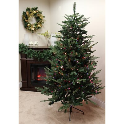 9' Grantwood Pine Artificial Christmas Tree with Multi Lights