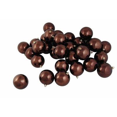 Shatterproof Christmas Ball Ornament Color: Chocolate Brown