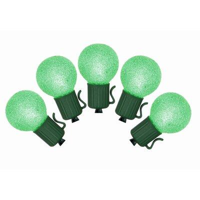 10 Christmas Light Color: Green