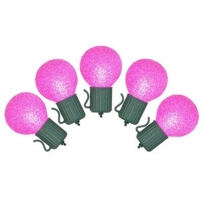10 Christmas Light Color: Pink