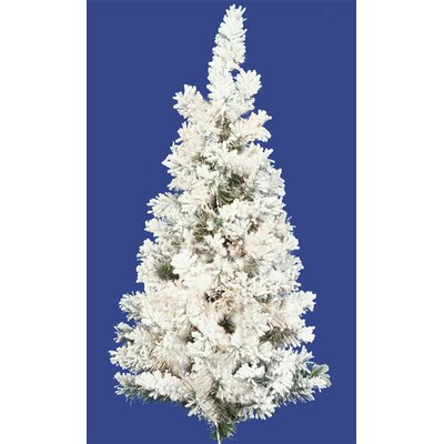 3' Flocked Alaskan Artificial Christmas Wall Tree