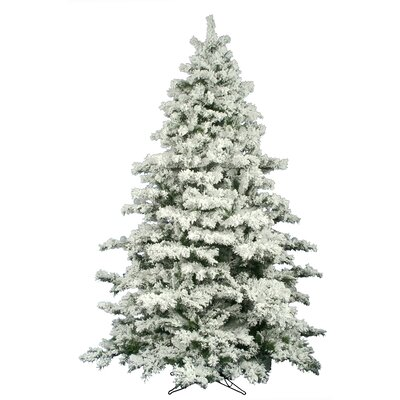Vickerman 12' Flocked Alaskan Artificial Christmas Tree