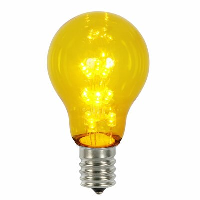 16W Yellow E26 LED Light Bulb
