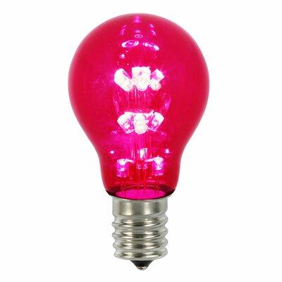 16W Red E26 LED Light Bulb