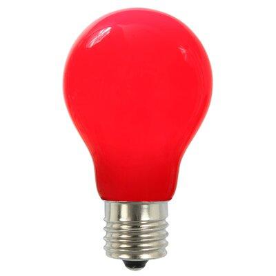 12W Red E26 LED Light Bulb