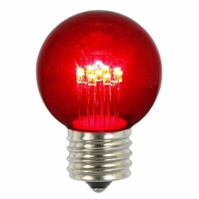 9W Red E26 LED Light Bulb