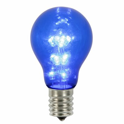 16W Blue E26 LED Light Bulb