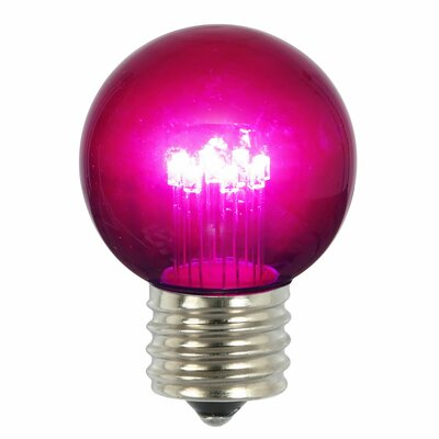 9W Pink E26 LED Light Bulb
