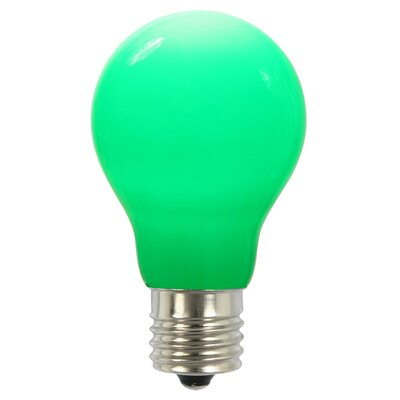 12W Green E26 LED Light Bulb