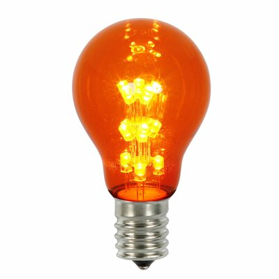 16W Amber E26 LED Light Bulb