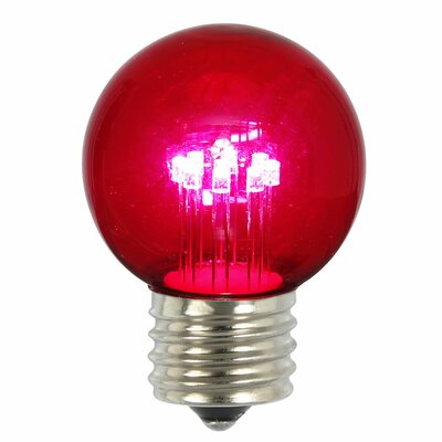 9W Pink E26 LED Light Bulb (Pack of 5)