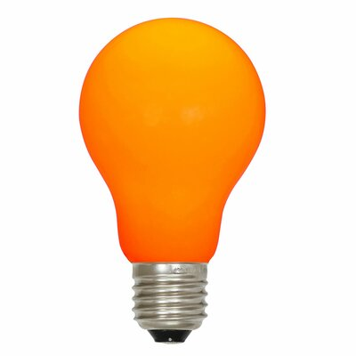 12W Orange E26 LED Light Bulb