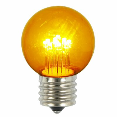 9W Amber E26 LED Light Bulb