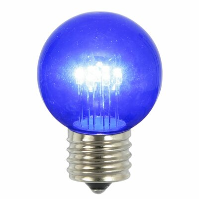 9W Blue E26 LED Light Bulb