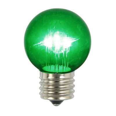 9W Green E26 LED Light Bulb