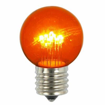 9W Amber E26 LED Light Bulb (Pack of 5)
