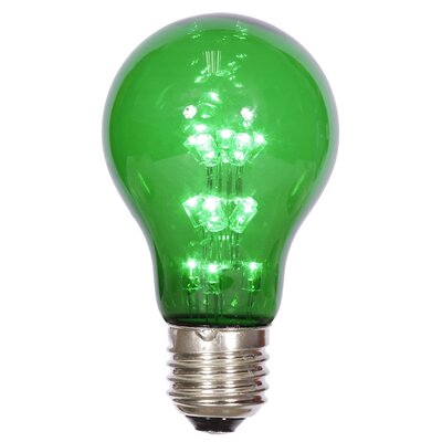 16W Green E26 LED Light Bulb