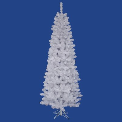 White Salem Pencil Pine 5.5' Artificial Christmas Tree with Stand