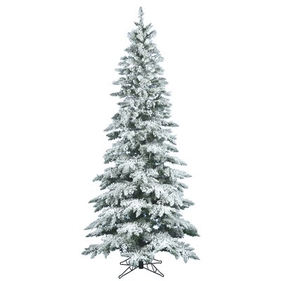 Vickerman Flocked Utica Fir 6.5' White Artificial Christmas Tree with Stand at Sears.com