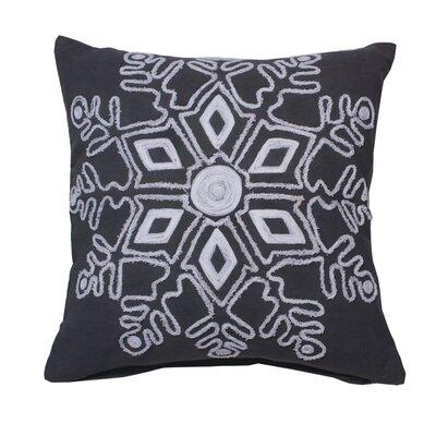 Annunziata Winter Snowflake Throw Pillow
