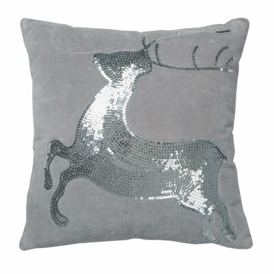 Hartell Sparkling Deer Throw Pillow