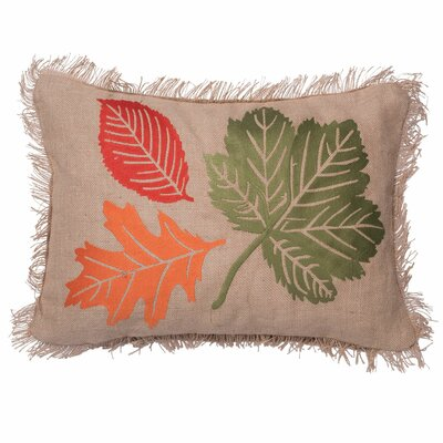 Sjostrand Harvest Leaves Lumbar Pillow