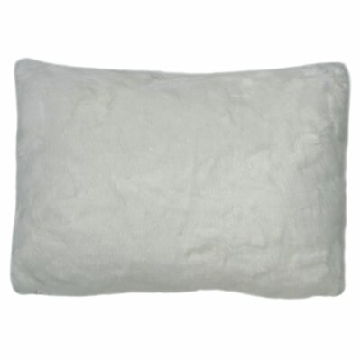 Snow Fox Lumbar Pillow