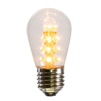S14 LED Light Bulb Wattage: 1.3
