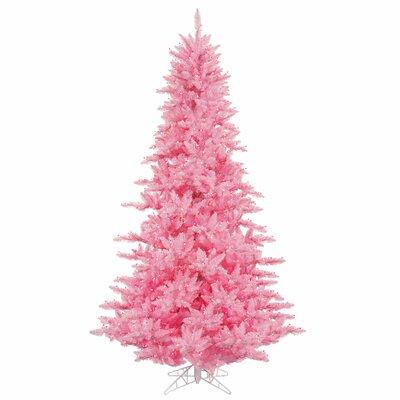 9' Pink Fir Christmas Tree with 1000 LED Pink Lights