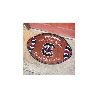 NCCA Football Indoor/Outdoor Doormat NCAA Team: South Carolina Gamecocks