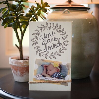 You Are Loved String Picture Frame 3780205