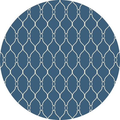 Fallon Night Sky Area Rug Rug Size: Round 8